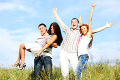 Fun in sky Royalty Free Stock Photography