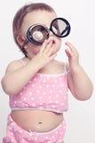 Fun smile baby Royalty Free Stock Image