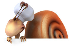 Fun snail Stock Image