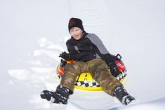 Fun In The Snow Royalty Free Stock Images