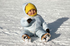 Fun in the snow Royalty Free Stock Photos