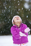 Fun In The Snow Stock Photography