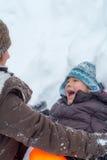 Fun on the snow Royalty Free Stock Photos