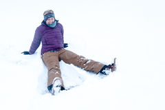 Fun in the Snow royalty free stock photo