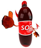 Fun soda Royalty Free Stock Images