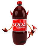 Fun soda Royalty Free Stock Photography
