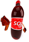 Fun soda Stock Photography