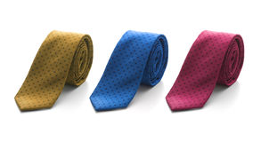 Fun spotted tie Stock Photo