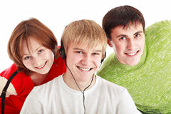 Fun students Stock Image