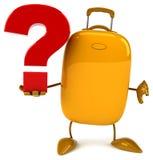 Fun suitcase Stock Photos