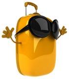 Fun suitcase Stock Image