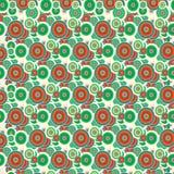 Fun summer colorfull pattern, cute. A fun summer cute pattern Stock Photos