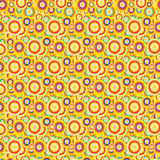 Fun summer colorfull pattern, cute. A fun summer cute pattern Royalty Free Stock Images