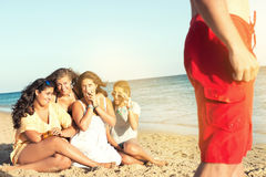 Fun in Summer time Stock Image