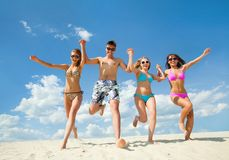 Fun summer time Royalty Free Stock Photos