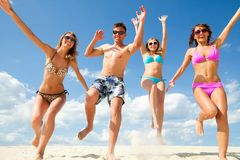 Fun summer time Royalty Free Stock Photo