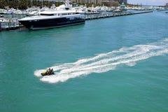 Fun in the sun Miami waverunner Royalty Free Stock Photos