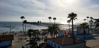 Oceanside Pier stock photo