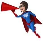 Fun superhero Royalty Free Stock Photography