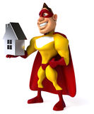 Fun superhero Stock Photos