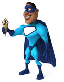 Fun superhero Royalty Free Stock Photo