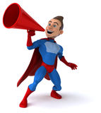 Fun superhero Royalty Free Stock Images
