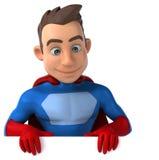 Fun superhero Royalty Free Stock Photos