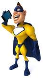 Fun superhero Royalty Free Stock Image