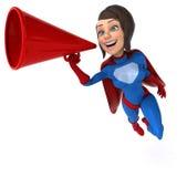 Fun superhero Stock Photos