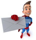 Fun superhero Royalty Free Stock Photography