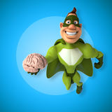 Fun superhero Stock Images