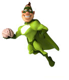 Fun superhero Stock Photography