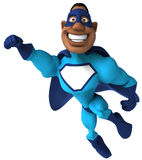 Black superhero Royalty Free Stock Image
