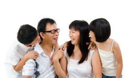 Fun talk Stock Image