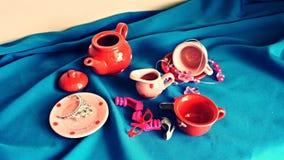 Fun tea party Stock Images