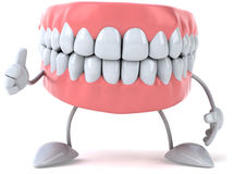 Fun teeth Stock Images
