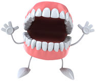 Fun teeth Royalty Free Stock Image