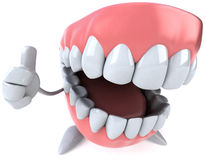 Fun teeth Royalty Free Stock Photography
