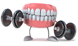 Fun teeth Royalty Free Stock Photos