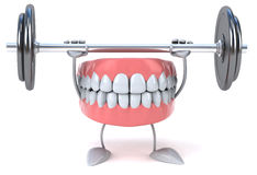 Fun teeth Royalty Free Stock Photo