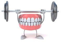 Fun teeth Royalty Free Stock Photo