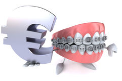 Fun teeth Royalty Free Stock Images