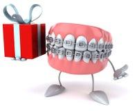 Fun teeth Stock Image