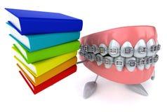 Fun teeth Stock Images