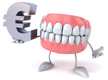 Fun teeth Stock Image