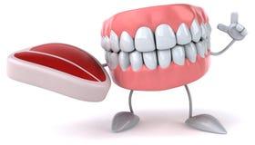 Fun teeth Royalty Free Stock Photography