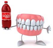 Fun teeth Stock Photography