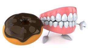 Fun teeth Stock Photos