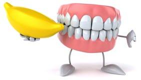 Fun teeth Stock Photo