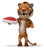 Fun tiger Royalty Free Stock Images